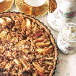 © PIGUT - Tarte pommes poires amandes cannelle vegan