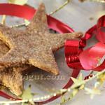 © PIGUT - Biscuits vegan étoile de Noël