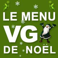 Menu de fêtes vegan du Menu VG
