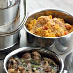 Risotto de Quinoa à la Courge, Parmesan Végétal et Petite Sauce aux Châtaignes