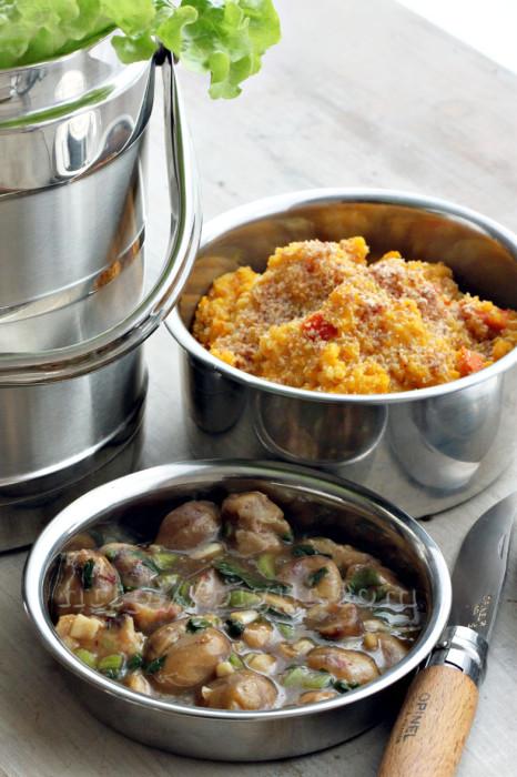 Risotto vegan à la quinoa et potimarron