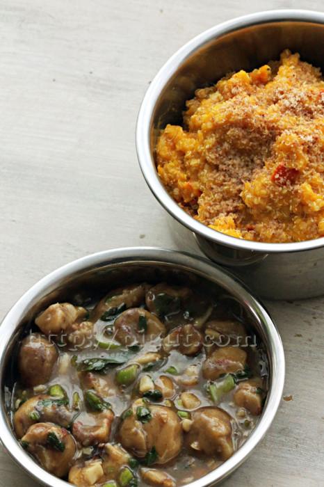 Recette de fête végétale à la quinoa