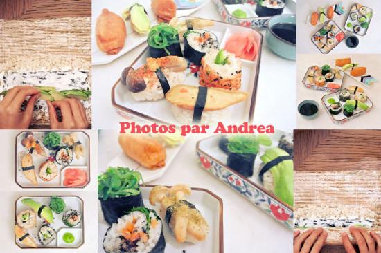 Cuisine bio végétale par Andrea