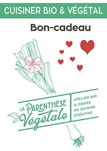 Bons-cadeaux La Parenthèse Végétale