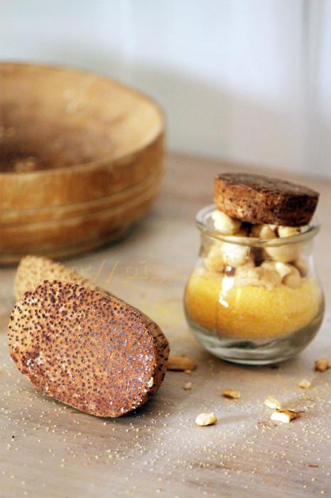 © PIGUT - Ingrédients pour gâteau de semoule