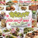 4 ans d'Aventure PIGUT + 1ers Cours de Cuisine Végétalienne & Bio à Paris