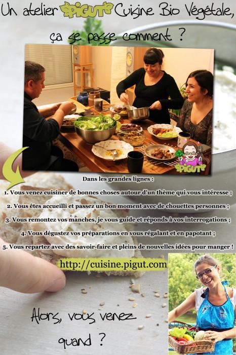 © PIGUT - Comment se passe un atelier de cuisine ?