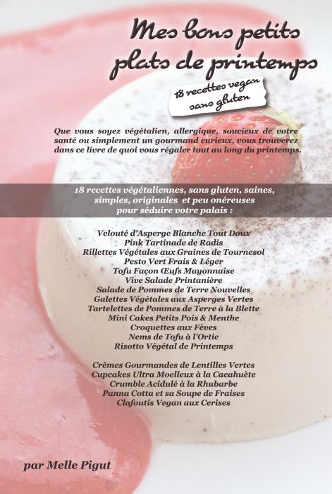 © PIGUT - 18 recettes vegan sans gluten de printemps