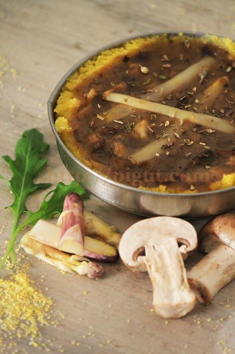 © PIGUT - Semoule de maïs sauce umami
