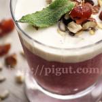 Délice de Fruits Onctueux Extra Gourmand à la Crème d'Amande