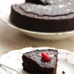 © PIGUT - Gâteau au chocolat sans oeufs sans lait