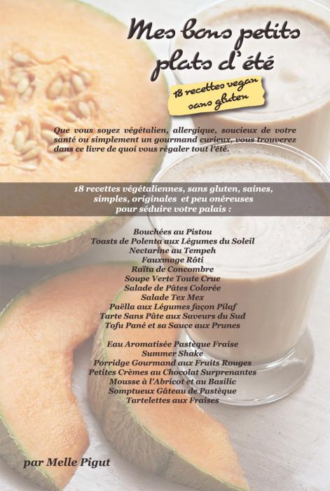 © PIGUT - 18 recettes vegan sans gluten d'été