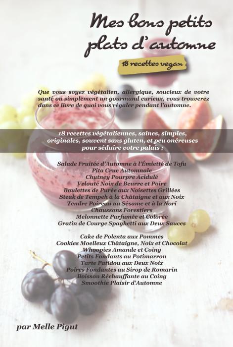 © PIGUT - 18 recettes vegan d'automne