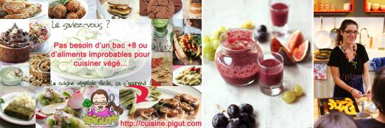 © PIGUT - Cours de cuisine bio végétaliens
