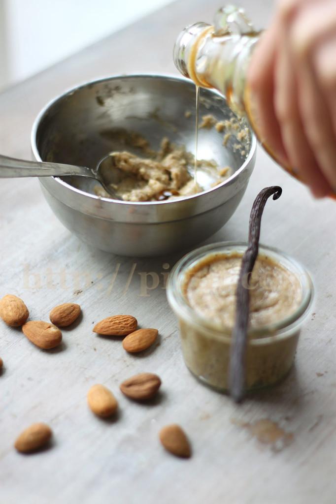 © PIGUT - Pâte à tartiner à l'amande, sirop d'érable et vanille