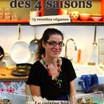 Mon Livre de Cuisine : Mes Petits Plats des 4 Saisons – 75 Recettes Véganes