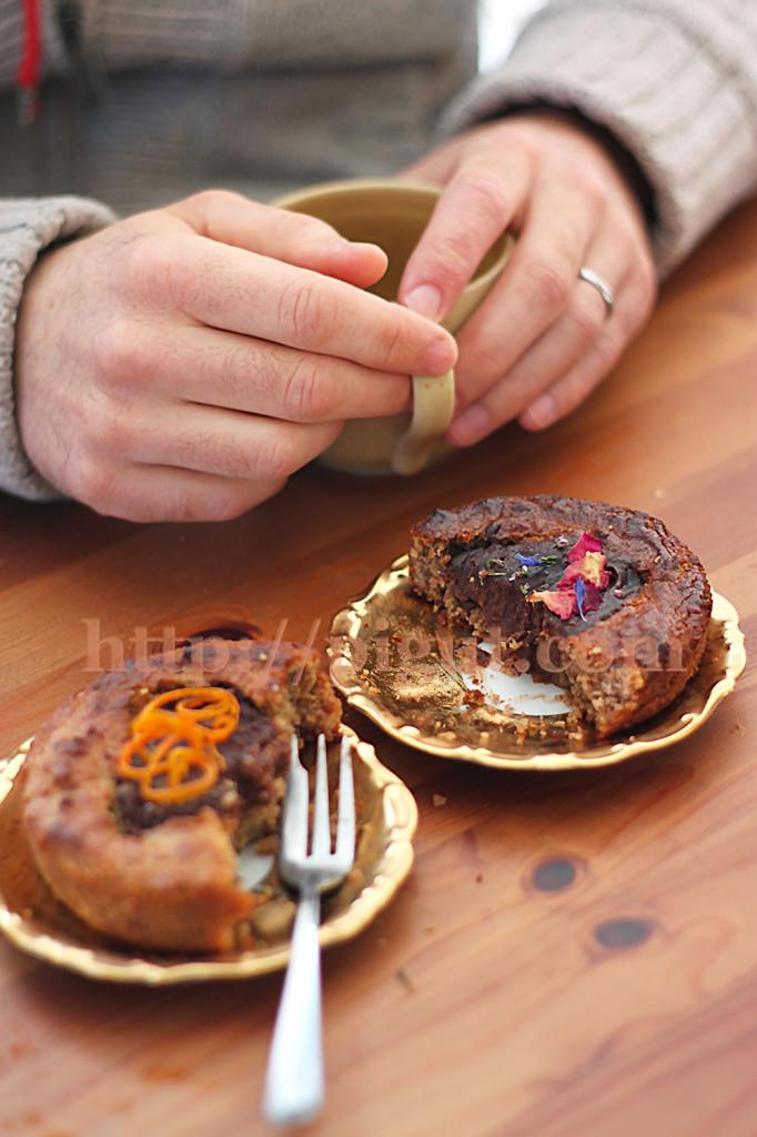 © PIGUT - Gâteau de St Valentin vegan sans gluten