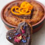 Gâteau Poire Amande au Coeur Chocolat pour une St Valentin Végane / Sans Gluten {vidéo}