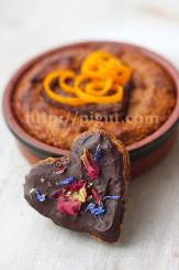 © PIGUT - Gâteau pour amoureux sans gluten et végétalien