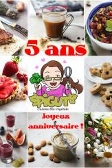 5 années de cuisine bio végétale