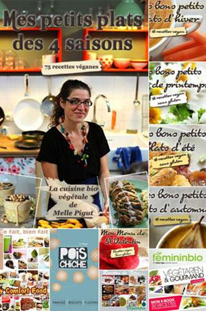 © PIGUT - Livres de cuisne végan et cuisine bio