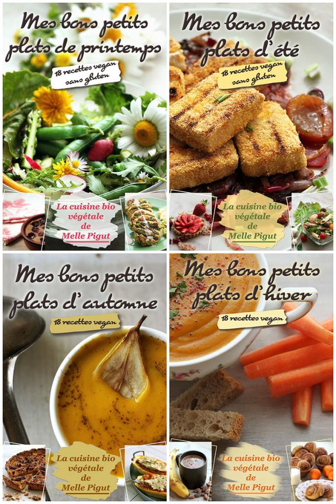© PIGUT - livres de cuisine bio végétale
