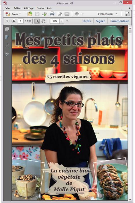 © PIGUT - L'ebook Mes Petits Plats des 4 saison en PDF
