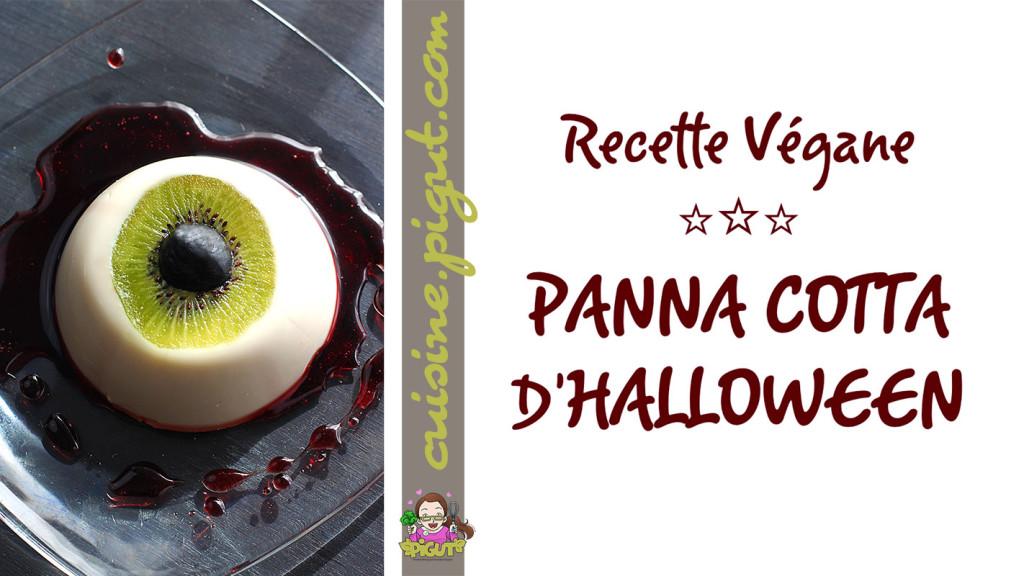 © PIGUT - Panna cotta végétale Oeil