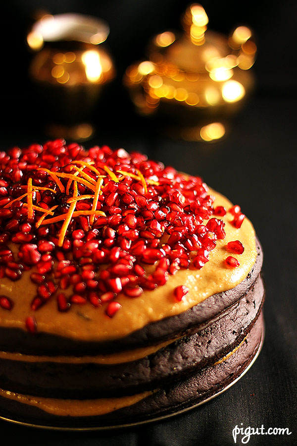 © PIGUT - Gâteau végane de fête