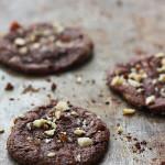 Cookies Meringués Choco-Noisette {Aquafaba / Vegan / Sans Gluten}