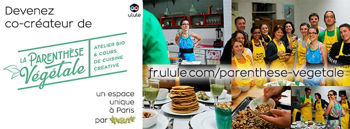 © PIGUT - La Parenthèse Végétale cours de cuisine bio
