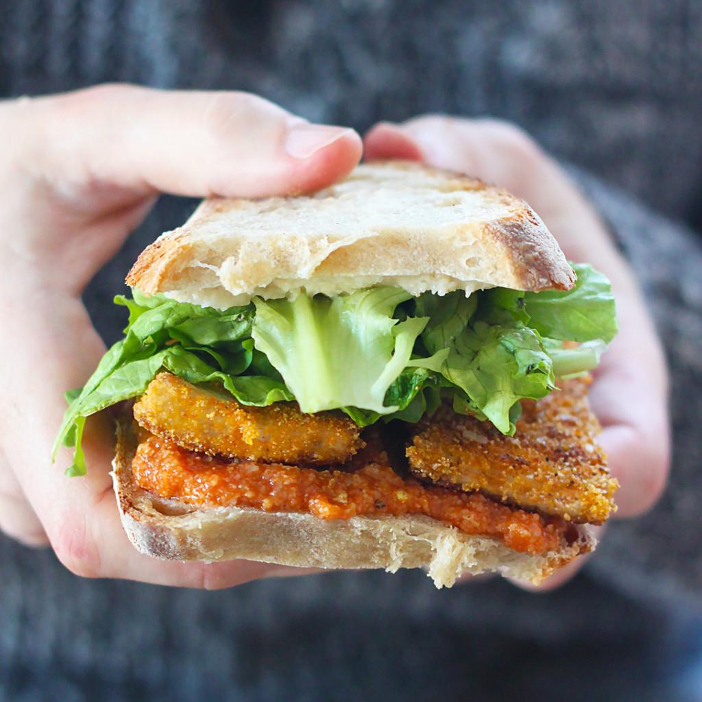 © PIGUT - Délicieux sandwich végétalien