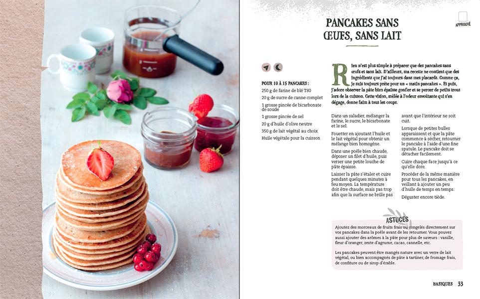 Pancakes - L'heure du petit déjeuner végane à sonné !