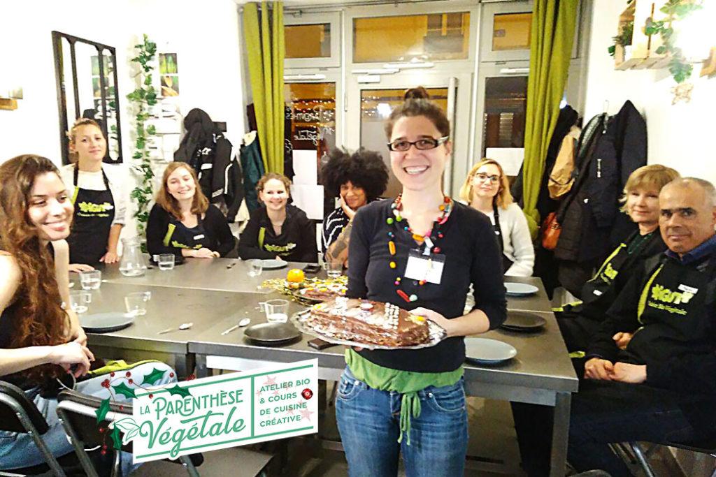 © PIGUT - Cours de cuisine végane de fêtes à Paris