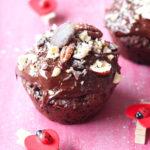 Muffins véganes extra chocolatés {Recette facile}