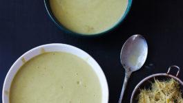 © PIGUT - Soupe végane anti-gaspi aux cosses de petits pois