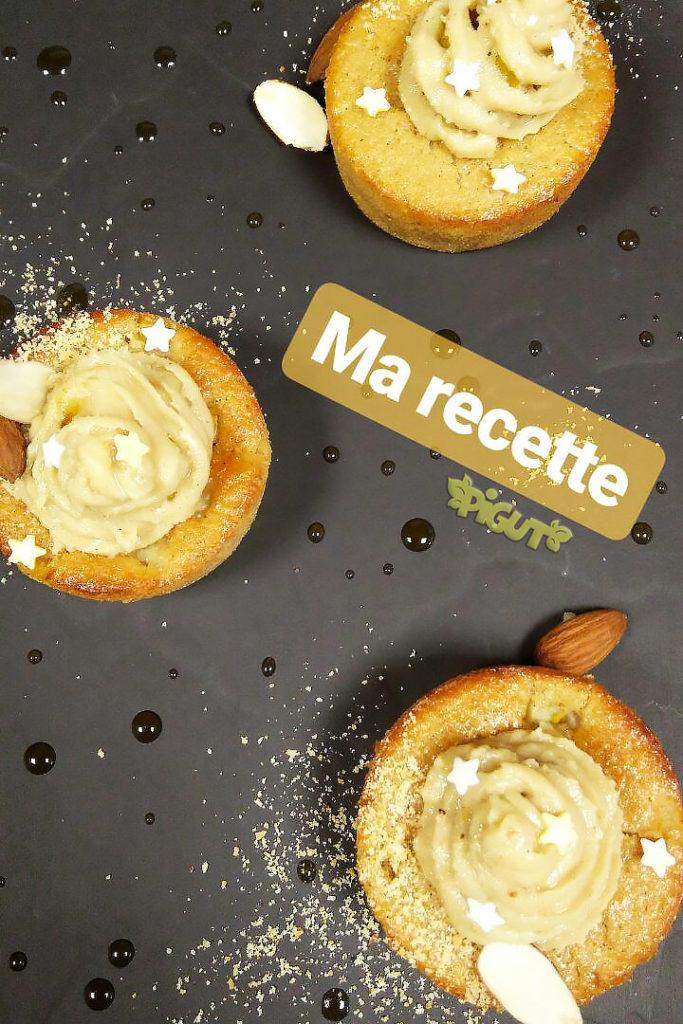 © PIGUT - Muffins véganes à la poire de Melle Pigut