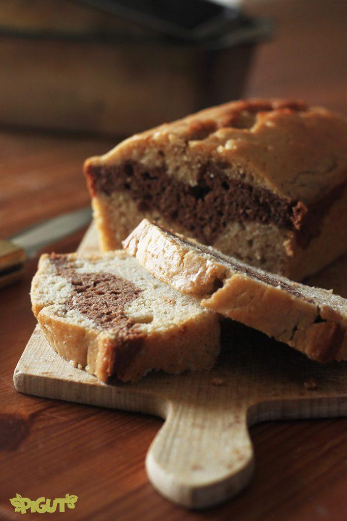 © PIGUT - Gâteau au  yaourt végane marbré